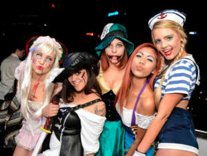 Soirees d'Halloween a New York - Deguisements
