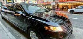 Limousine a New York location