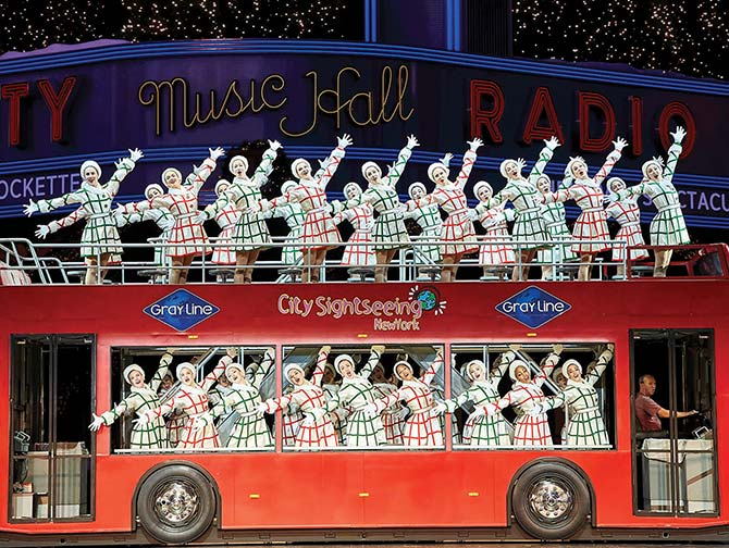 Spectacles de Noel a New York - Radio City Christmas Spectacular