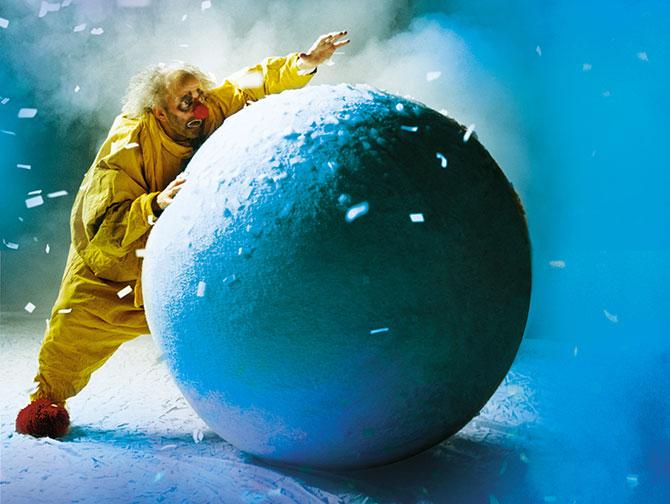 Spectacles de Noel a New York - Slavas Snowshow