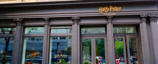 Harry Potter Store a New York