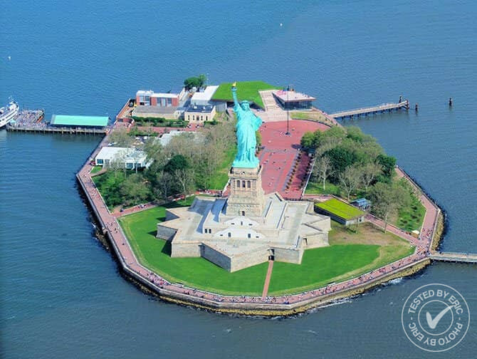 Vol en hélicoptère à New York- Statue de la Liberté