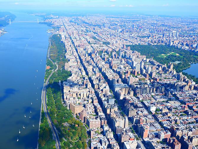 Vol en hélicoptère à New York - Central Park