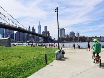 Voyage eco responsable a New York Faire du velo a Brooklyn