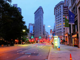 Flatiron Building a New York de Nuit