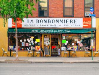 Petit dejeuner a New York La Bonbonniere
