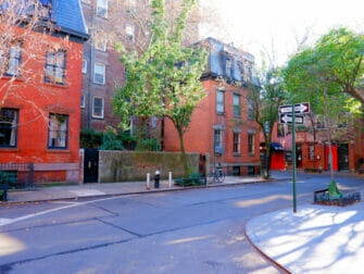 Greenwich Village in New York rue