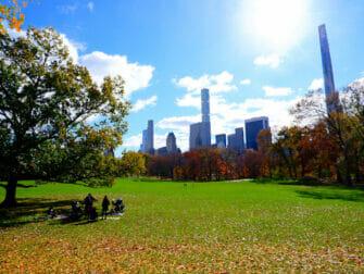 Parcs à New York - Central Park