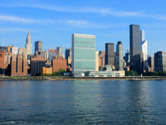 Le Siège de l'ONU à New York Chrysler Building