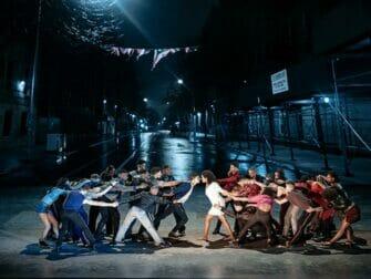 Billets pour West Side Story a Broadway Guerre des familles