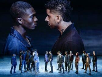 Billets pour West Side Story a Broadway Face a face