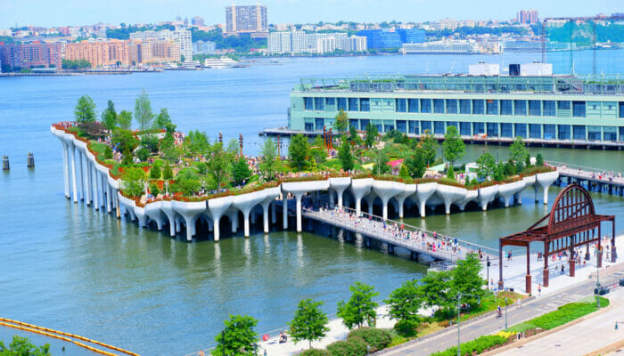 Little Island a New York L'ile entiere