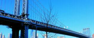 Manhattan Bridge à New York