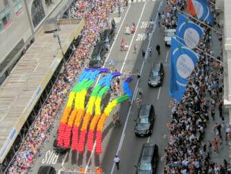 New York Gay Pride - Arc-en-ciel