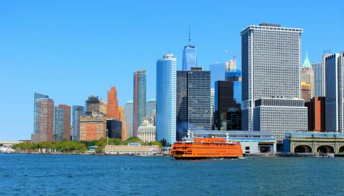 Staten Island à New York Skyline