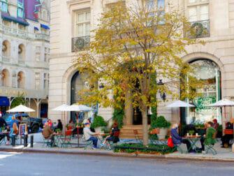 Shopping à l'Upper East Side à New York