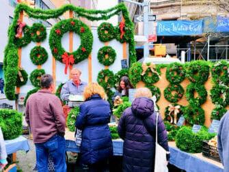 Marches de Noel a New York Union Square Noel