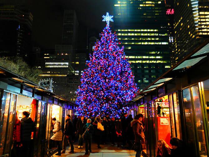 Marches de Noel a New York