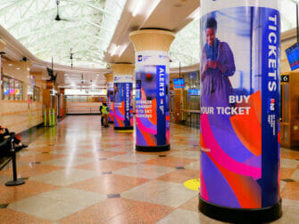 Penn Station à New York NJ Transit