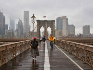 La pluie à New York