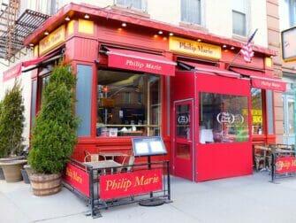 Restaurants à New York Philip Marie