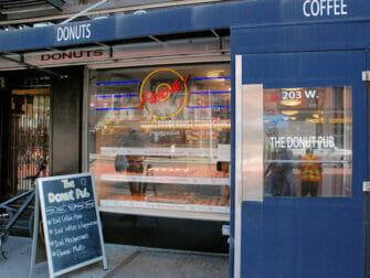 Meilleurs donuts a New York The Donut Pub 1