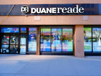 Supermarchés à New York Duane Reade