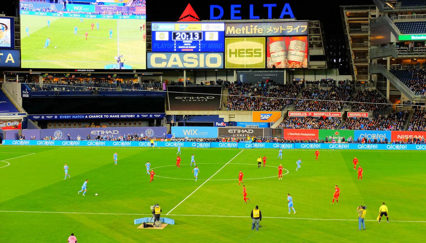 MLS Football a New York