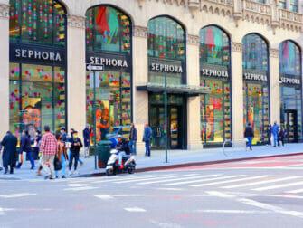 Shopping à l'Upper East Side à New York - Fifth Avenue