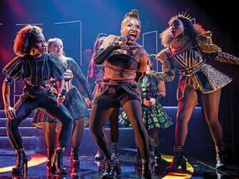 Billets pour SIX a Broadway - Les chansons