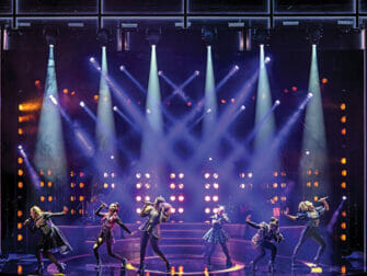Billets pour SIX a Broadway - La scene