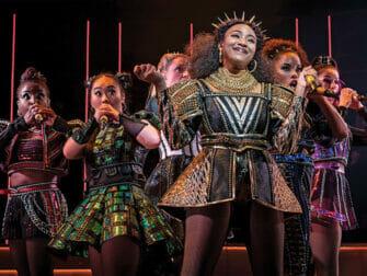 Billets pour SIX a Broadway - Le spectacle