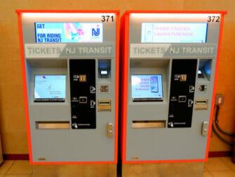 New Jersey Transit a New York NJ Transit Billets