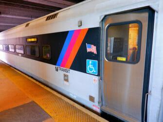 New Jersey Transit a New York Train