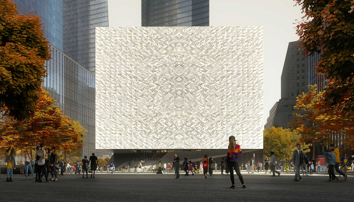 Performing Arts Center a New York – Exterieur