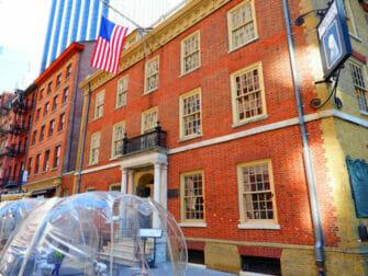 Visites guidees Hamilton a New York Fraunces Tavern