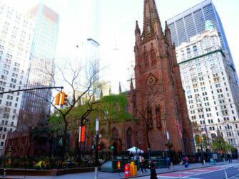 Visites guidees Hamilton a New York Trinity Church