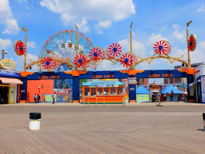 Billets pour Luna Park a Coney Island