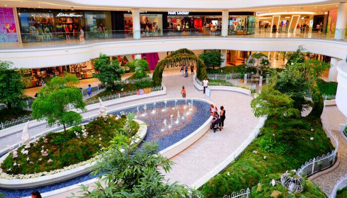 American Dream Mall pres de New York Jardin