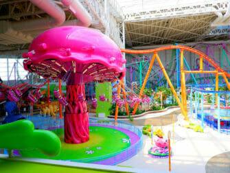 American Dream Mall pres de New York Nickelodeon