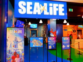 American Dream Mall pres de New York SEA LIFE Aquarium