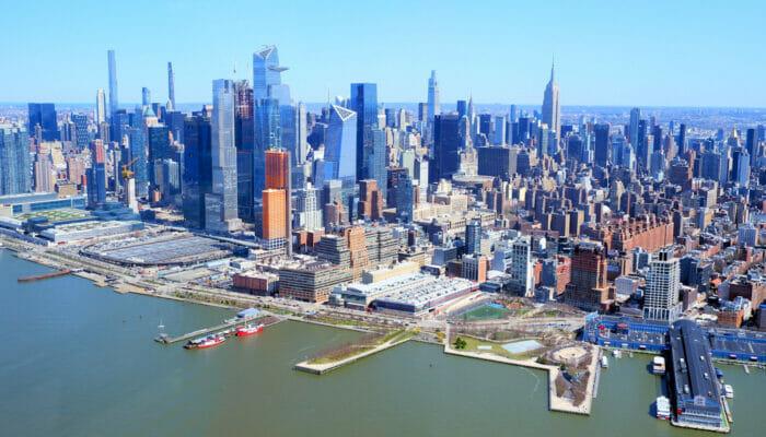Manhattan a New York Skyline