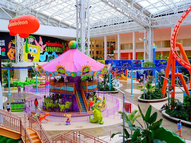Billets pour le parc d'attractions Nickelodeon Universe pres de New York