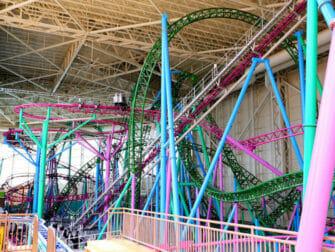 Billets pour le parc d'attractions Nickelodeon Universe pres de New York Montagnes Russes